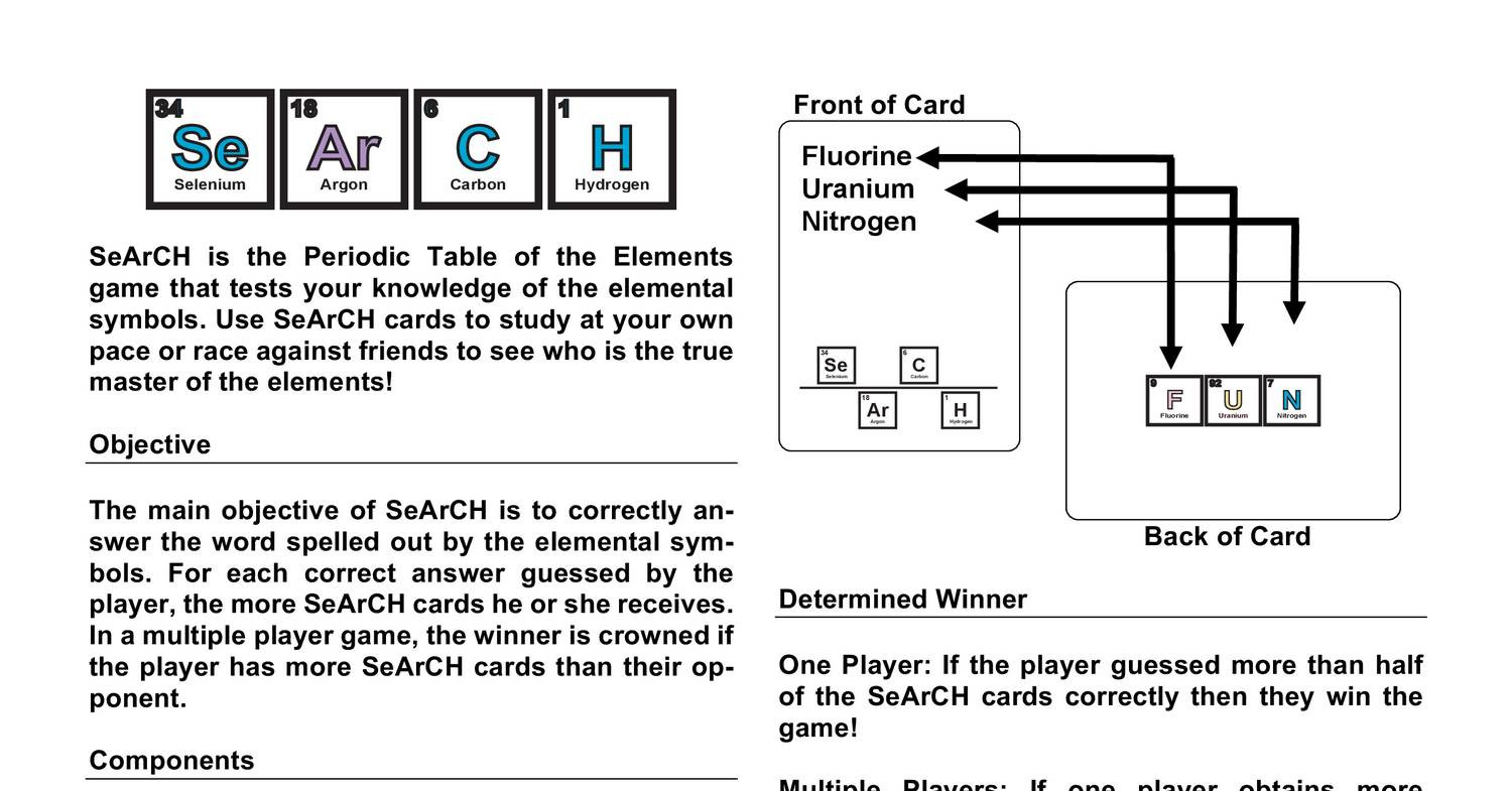 Search free print and play manual and periodic tablepdf docdroid gamestrikefo Choice Image