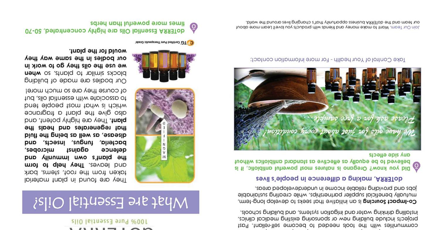 What Are Essential Oils Flyer Diypdf Docdroid