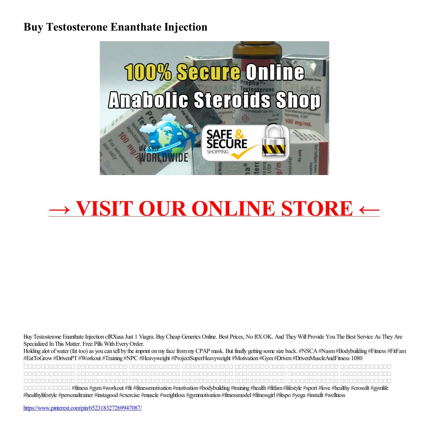 Buy Testosterone Enanthate Injection-html.pdf DocDroid