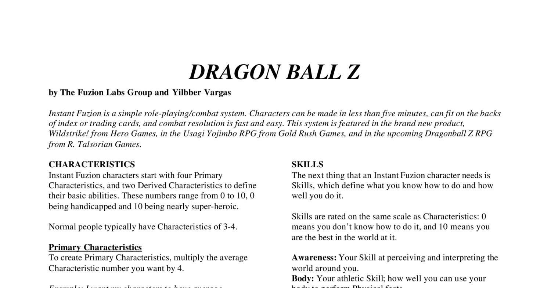 Vargas_DBZ pdf | DocDroid