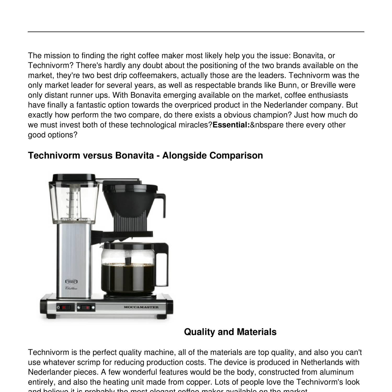 Technivorm_vs_Bonavita__The_Best_Drip_Coffee_Makers.pdf - DocDroid