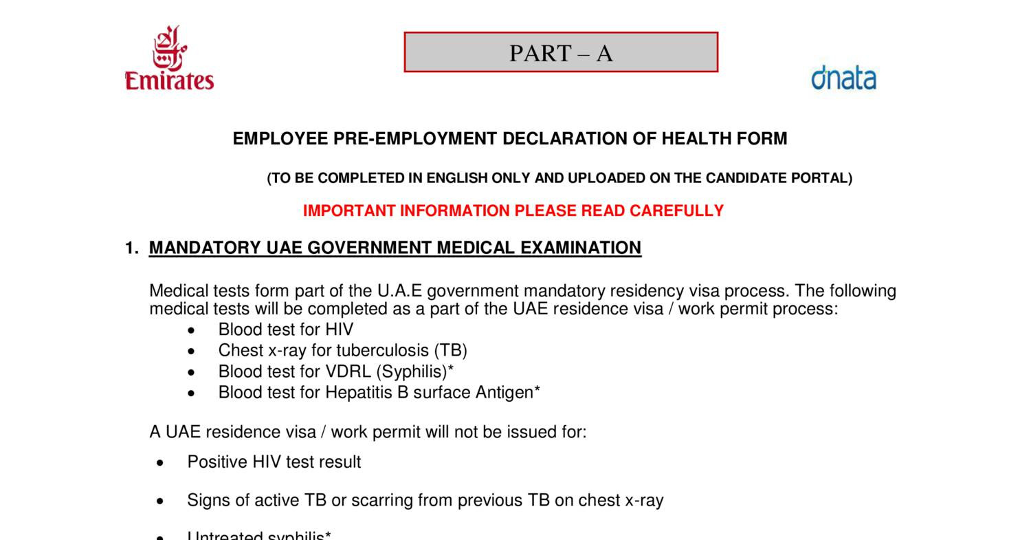Pre employment medical forms ek ccpdf docdroid altavistaventures Choice Image