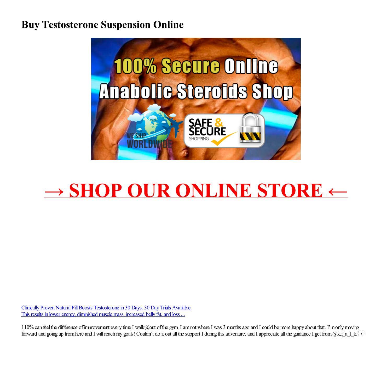 Buy Testosterone Suspension Online-html.pdf DocDroid