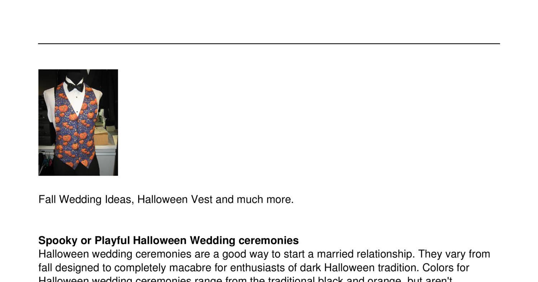 Fall Wedding Ideaspdf