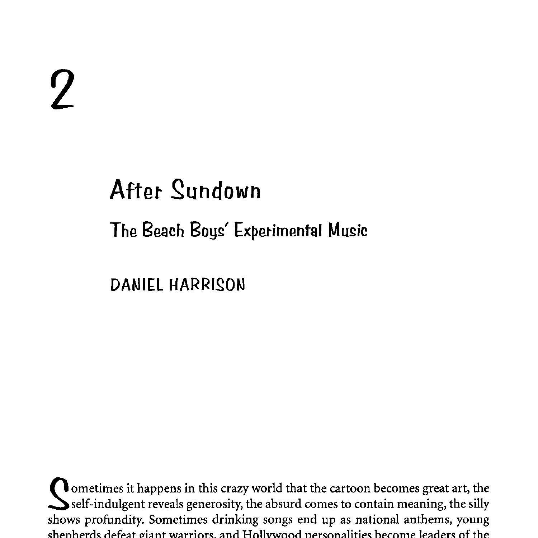 Harrison AfterSundownBeachBoysExperimentalMusic.pdf   DocDroid