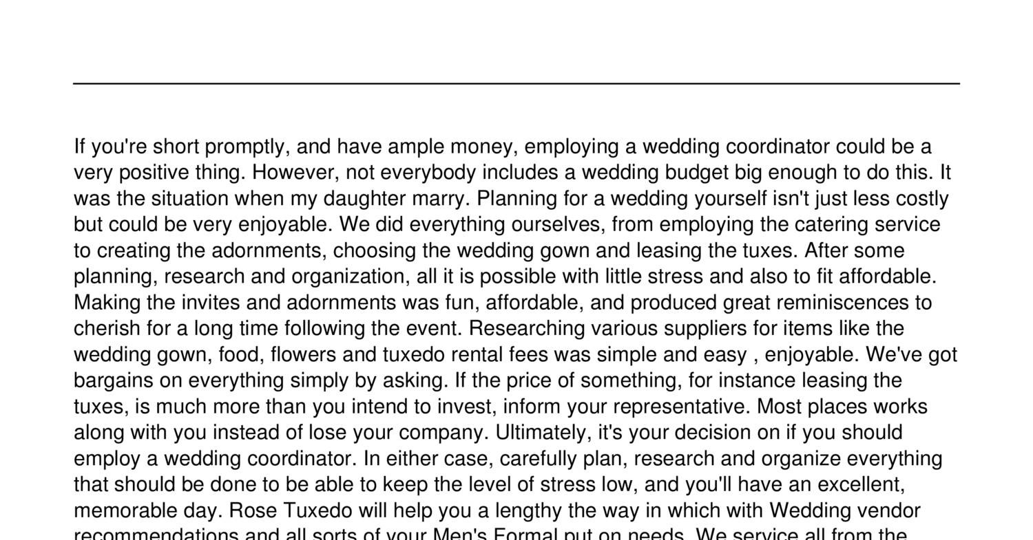 Wedding Planning The Love Hate With